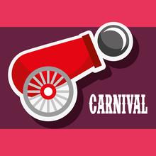 Cannon Ball Poster Carnival Fu...