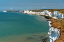 The Seven Sisters Chalk Cliff ...