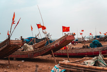 Asian Fishing Boats