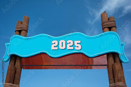 Poster  Schild 332 - 2025