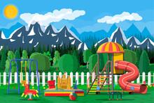 Kids Playground Kindergarten P...
