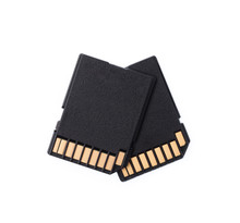 Black SD Memory Card Isolated ...