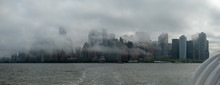 Cloudy Lower Manhattan