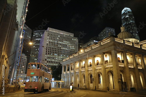Photo  Night view of the Legislative Council Building