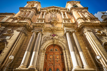 Collegiate Parish Church Of St Paul's Shipwreck In Valletta, Malta