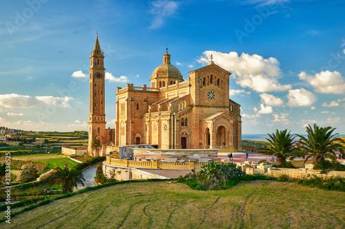 The Basilica of the National Shrine of the Blessed Virgin of Ta' Pinu at Gozo, M Fototapeta