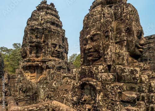Foto  Angkor Thom Tempel, Kambodscha