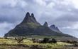 Three Mammals Berge auf Mauritius Panorama