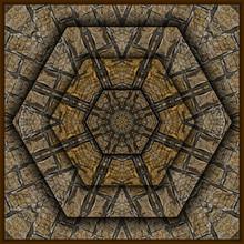 3d Effekt - Abstrakt Polygonal Muster