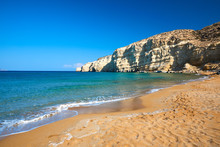 Matala Red Beach - Crete, Greece
