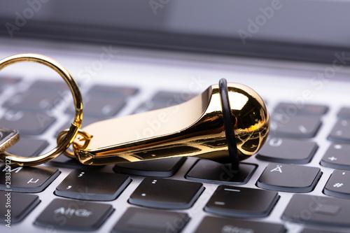 Zdjęcie XXL Zakończenie Złoty Hotelowy Keychain