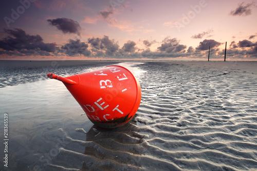 Keuken foto achterwand Noordzee Strandurlaub an der Nordsee