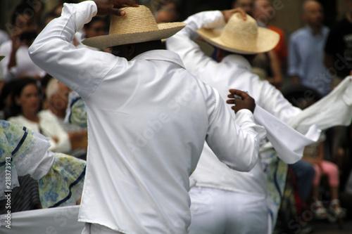 Spoed Fotobehang Zuid-Amerika land Cumbia colombiana