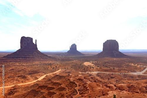 Fototapety, obrazy: Oljato Monument Valley navajo tribal park in Utah USA