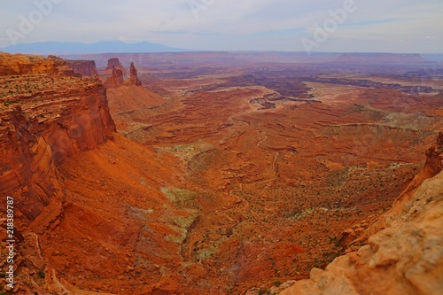 Keuken foto achterwand Lavendel Island in the sky district, Canyonlands National Park in Utah