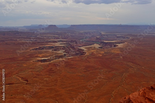 Green River Overlook, Island in the sky district, Canyonlands National Park in Utah