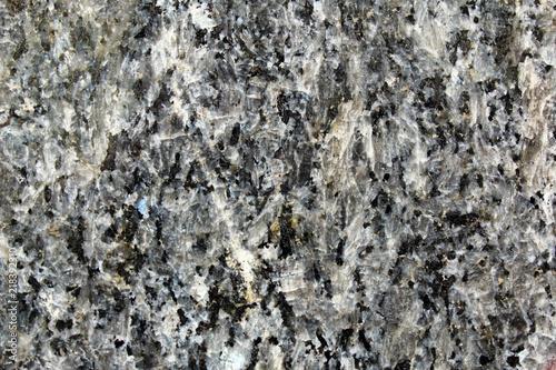 Fotomural Detail of black granite polished surface