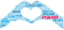 Asylum Seeker Word Cloud On A ...