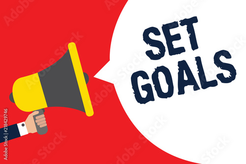 speech on achieving goals