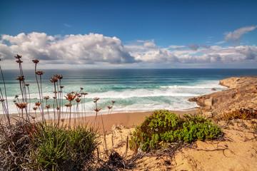 The tempting coast of Portugal Costa Vicentina, Sagres.