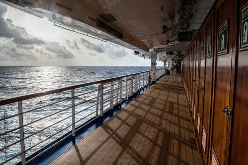 Foto op Aluminium Oceanië Sunlight on Deck