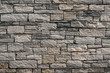 Background shot of organic square block wall