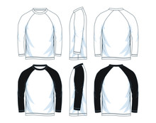 Long Sleeve Raglan Shirt For M...
