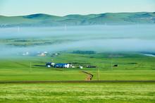 The Mongolian Yurts In Summer ...