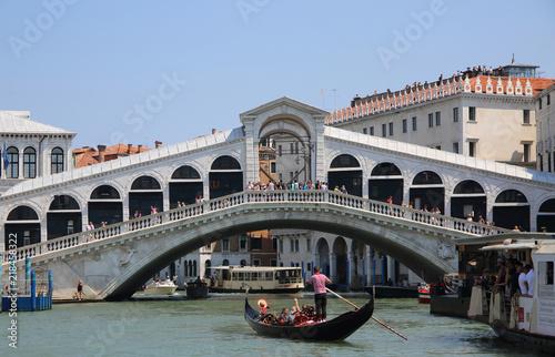 Türaufkleber Gondeln Venedig