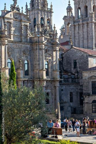 Fotografie, Obraz  Catedral De Santiago de Compostela (Azabachería)