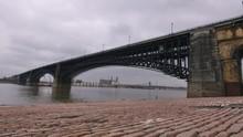 Eads Bridge Spanning The Missi...
