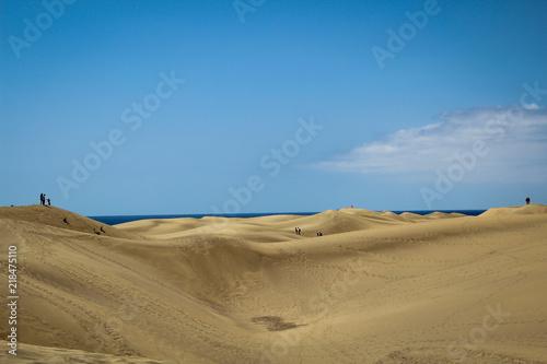 Photo  Sand, Dünen, Wanderdünen, Wüste