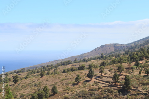 Beautiful Landscape at La Palma, Canary Islands