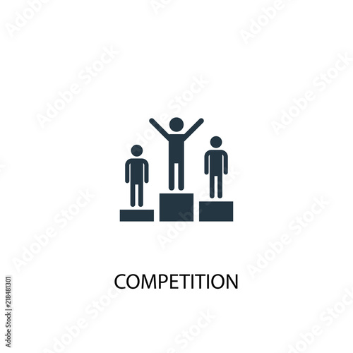 Fotografia competition icon. Simple element illustration