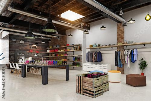 Cuadros en Lienzo  modern boutique interior