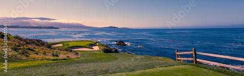 Poster Golf Pebble Beach golf course, Monterey, California, USA