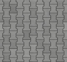 Dumble Interlocking Paver Block, Seamless Texture Map