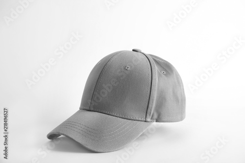 Baseball cap on white background. Mock up for design