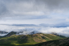Clouds Entering The Bowl Shape...