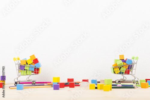 Fototapeta 溢れる商品 obraz