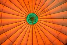 Symmetrical View Of Orange Bal...