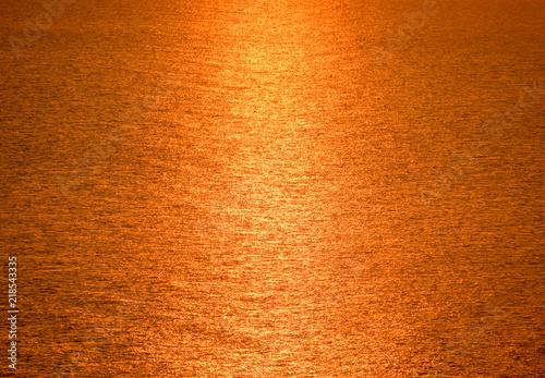 Foto op Canvas Baksteen Dawn over the sea. Sea of Azov. Sunrise