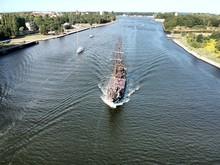 Sailing Ship Czarna Perla In P...