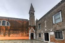 Church Of San Martino - Burano, Venice, Italy