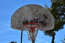 Old Grunge Basketball Backboard