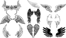 天使の翼のグラフィッ...