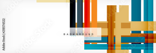 Foto op Aluminium Hoogte schaal Color stripes and lines, geometric abstract background
