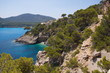 Coast at the road to Cuevas de Arta on Mallorca
