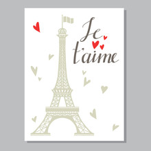 Greeting Valentines Day Card W...