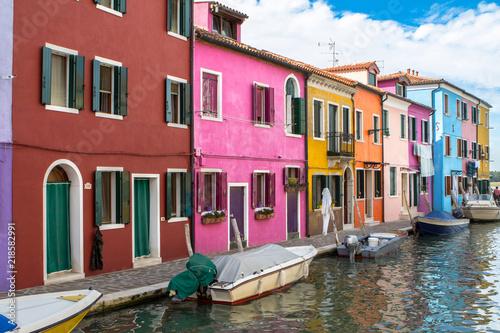 Fototapety, obrazy: Colorful houses in Burano, Venice